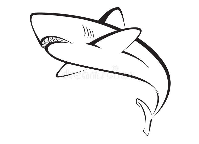 Haifisch vektor abbildung