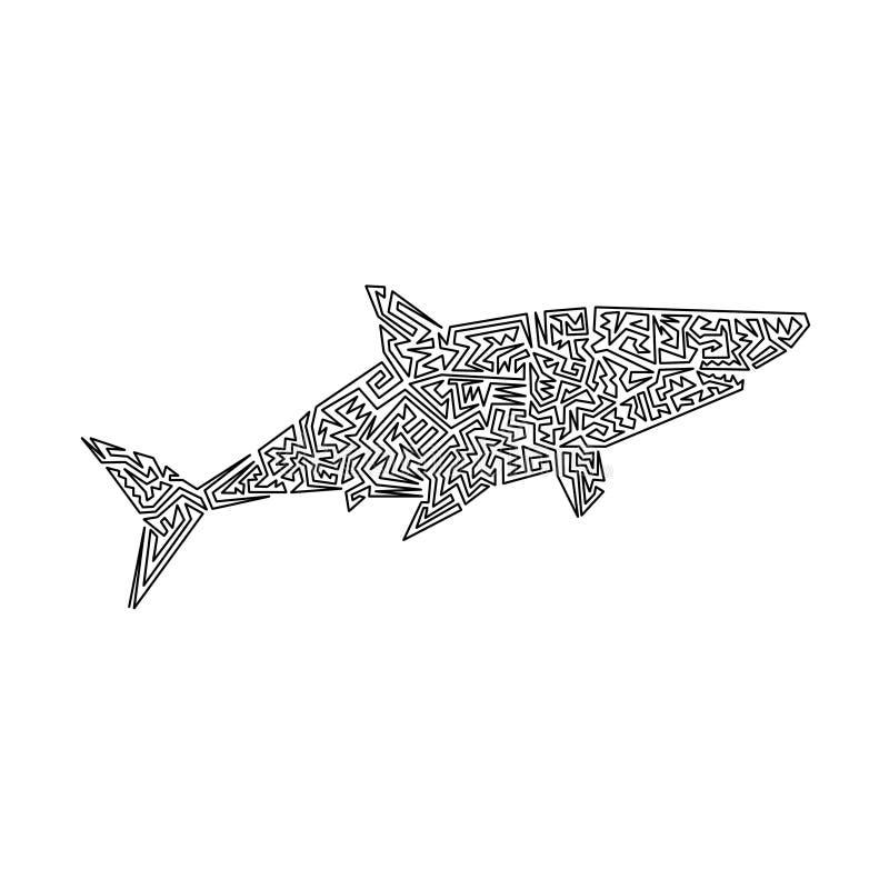 Haifisch lizenzfreie stockfotografie