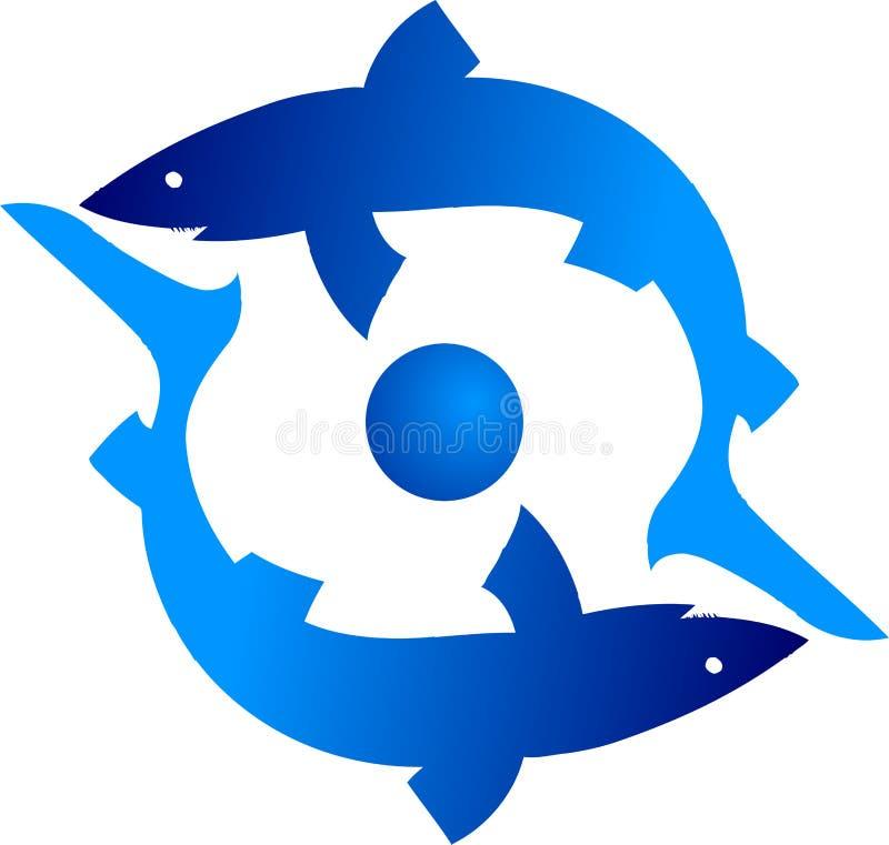 Haifisch Zwei Lizenzfreies Stockbild