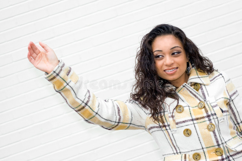 Download Hailing a Taxi Cab stock photo. Image of beautiful, cute - 9253316