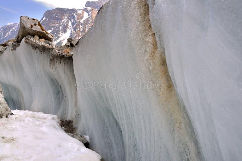 Hailuogou Glacier royalty free stock photos
