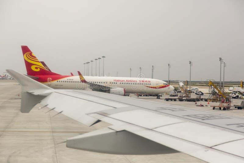 Hainan Airlines - la Cina immagine stock libera da diritti