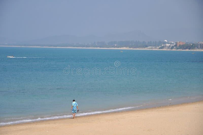 Download Hainan heavenly beach editorial stock photo. Image of sanya - 19252403