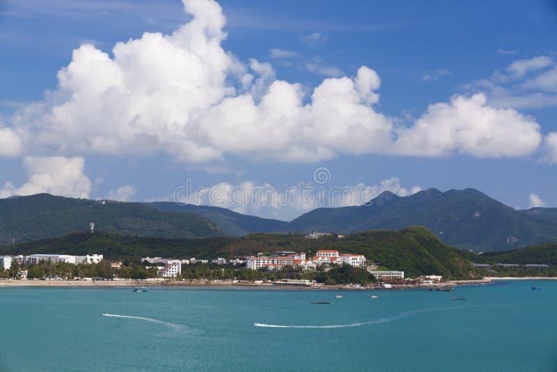 Hainan Sanya soleado imagen de archivo libre de regalías