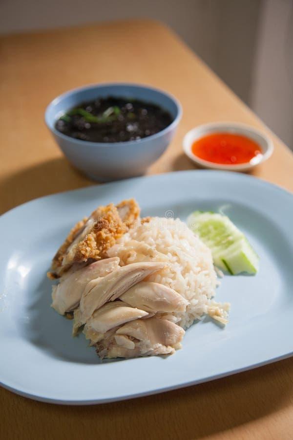 Hainanese鸡米 免版税图库摄影
