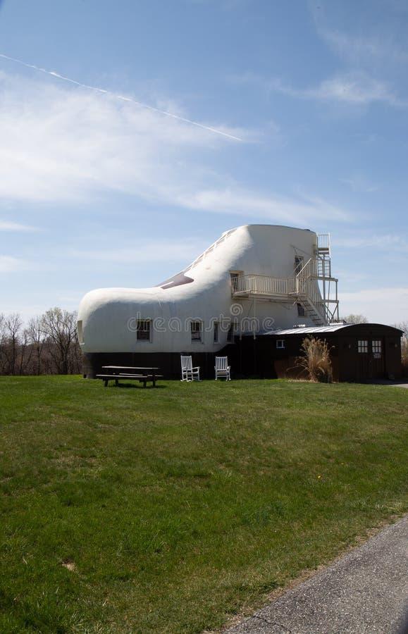 Haines Shoe House i PA arkivfoton