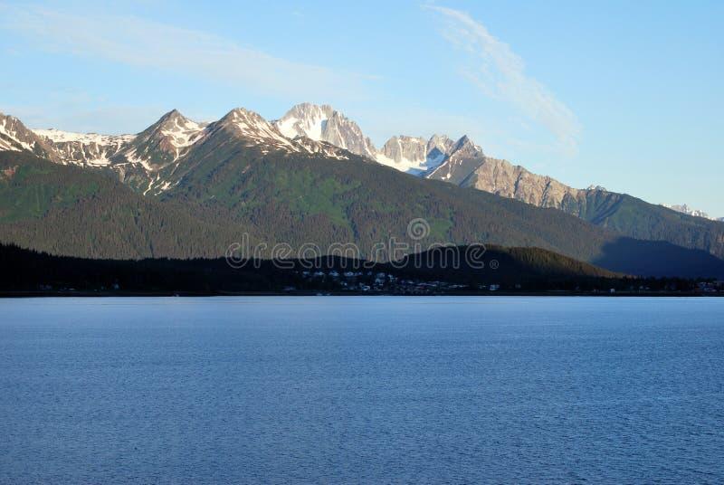Haines van het Lynn Kanaal Alaska royalty-vrije stock afbeelding