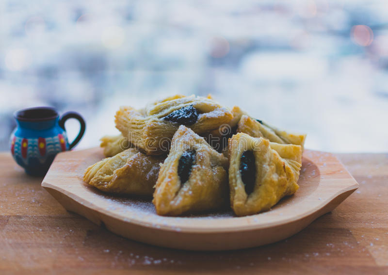 Haiose. Traditional Romanian dessert royalty free stock image