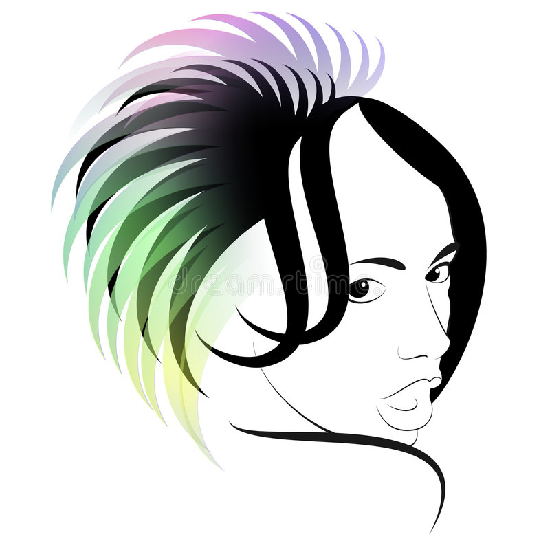 Download Hair stock vector. Illustration of artwork, beautiful - 5770024
