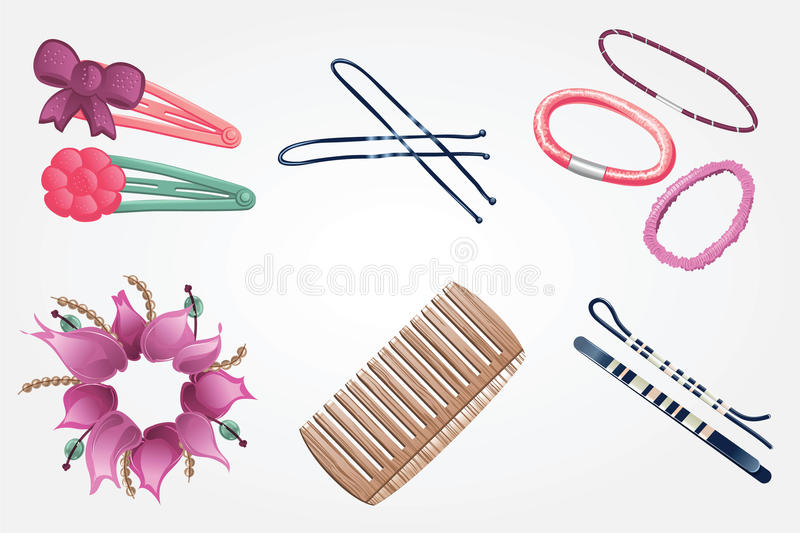 Hair accessories royalty free stock image