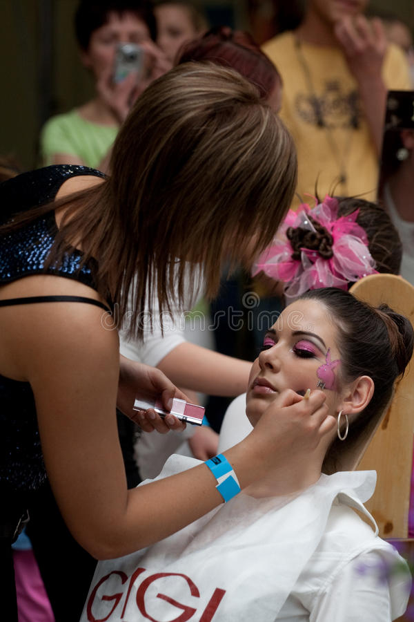 Free Hair And Beauty Festival Stock Image - 17622841