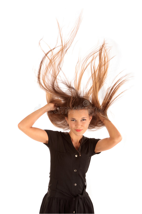 Free Hair And Wind Stock Photo - 6216250