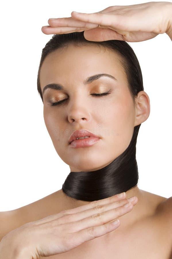 Download Hair Around Neck Royalty Free Stock Photos - Image: 13859298