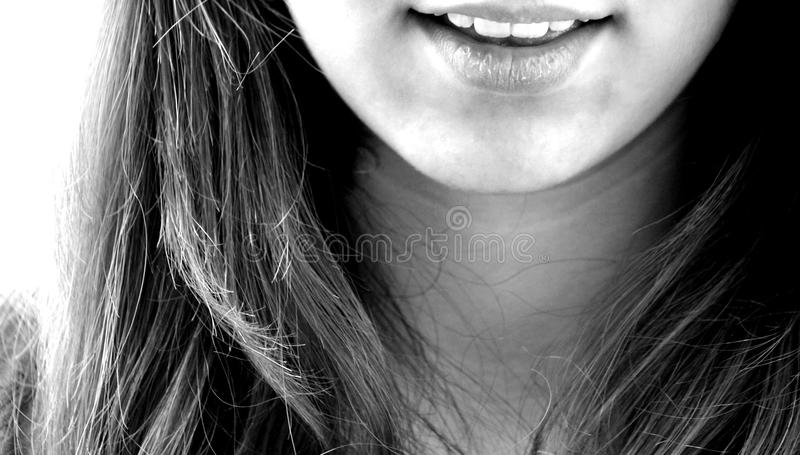 Hair, Black, Black And White, Beauty stock image