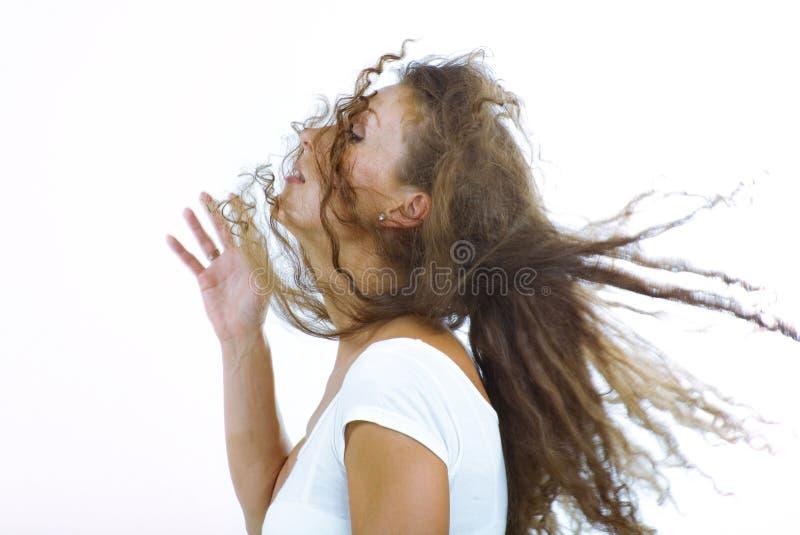 Hair boom royalty free stock image