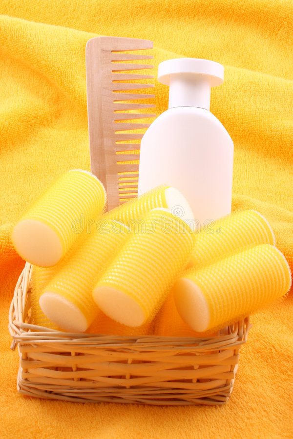 Download Hair care stock image. Image of comb, curlers, hairdresser - 2303859