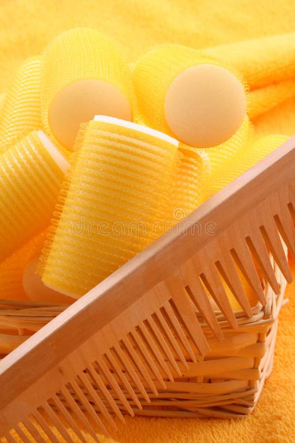 Download Hair care stock photo. Image of wooden, styling, towel - 2303920