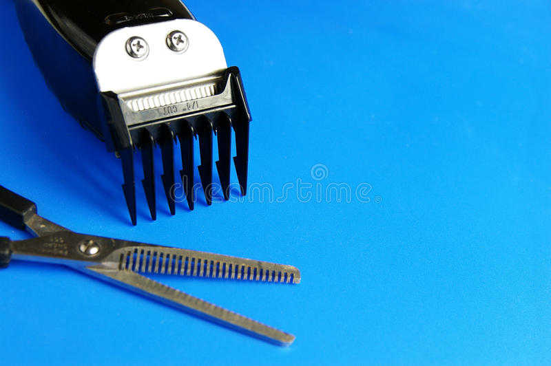 Hair clippers stock images