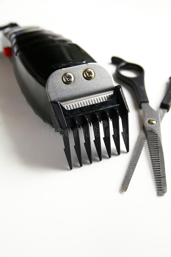 Hair clippers royalty free stock photos