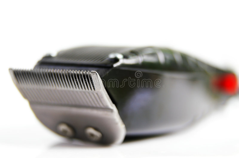 Hair clippers stock photo