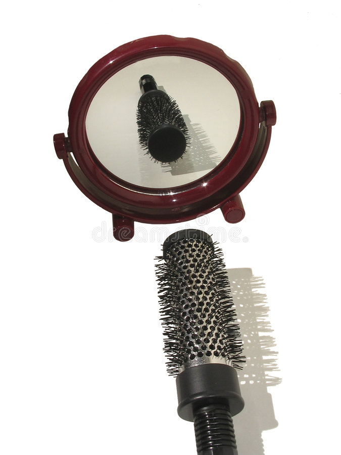 Download Hair comb stock photo. Image of brushing, bathroom, attractive - 166332