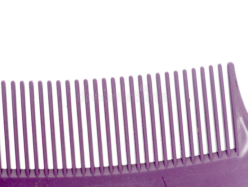 Hair Comb on white royalty free stock photos