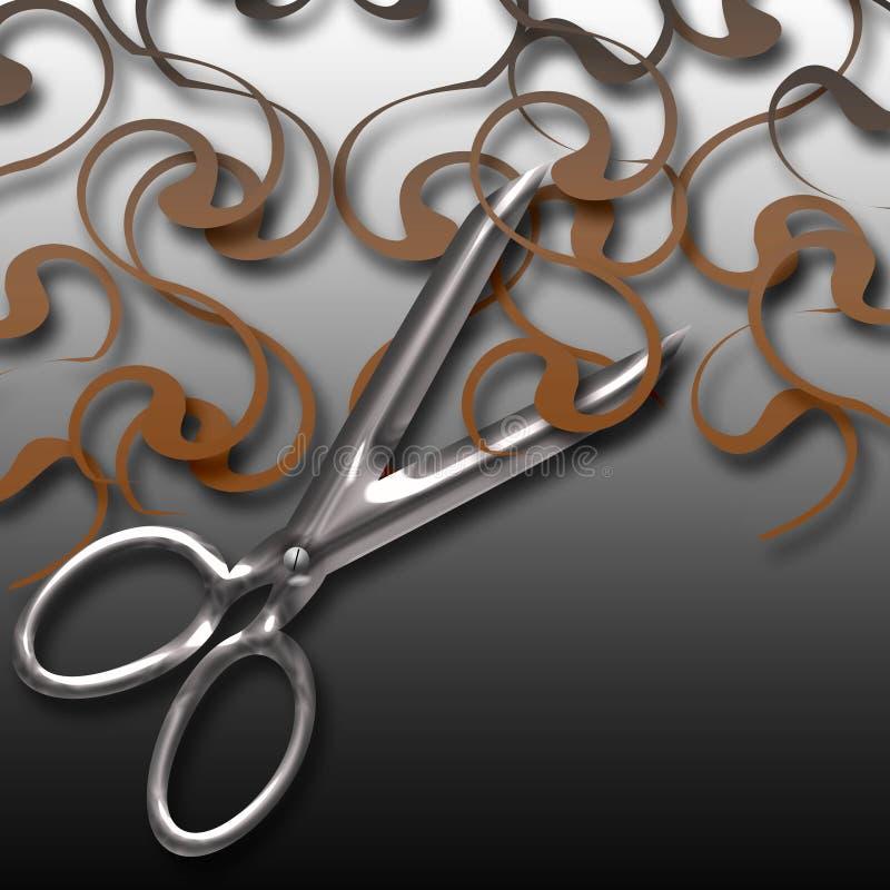 Download Hair cut stock illustration. Image of poster, sharp, illustration - 32205015
