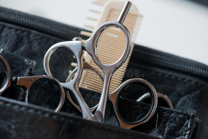 Hair Cutting Tools stock image