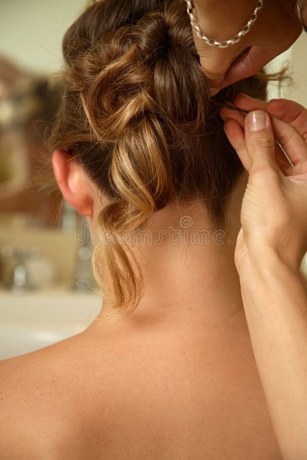 Download Hair Dresser stock image. Image of dresser, curls, head - 1688001