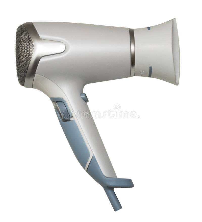 Hair drier stock photo
