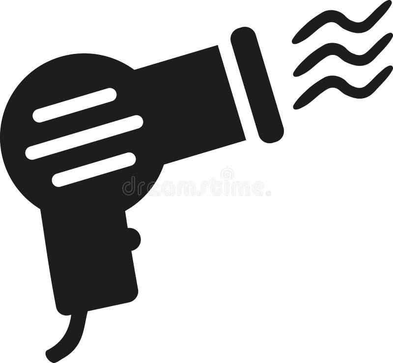 Hair drier icon vector illustration