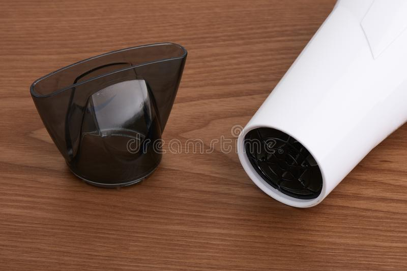 Hair dryer concentrator nozzle stock photography