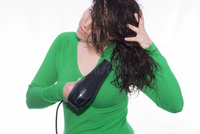 Hair dryer royalty free stock image
