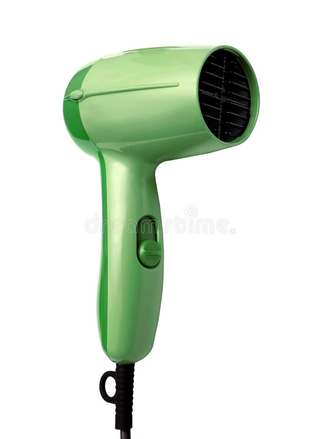 Free Hair Dryer Isolated Royalty Free Stock Images - 12021909