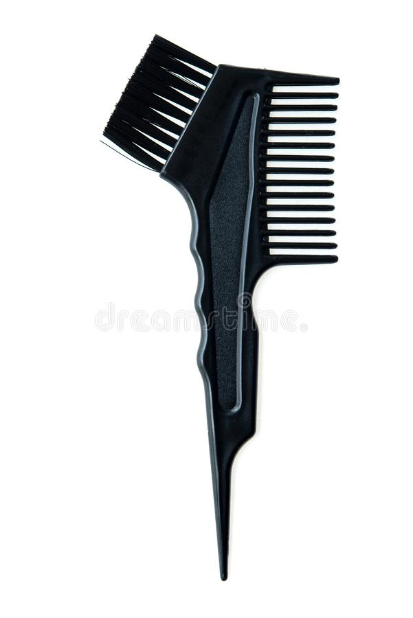 Hair dye brush royalty free stock images