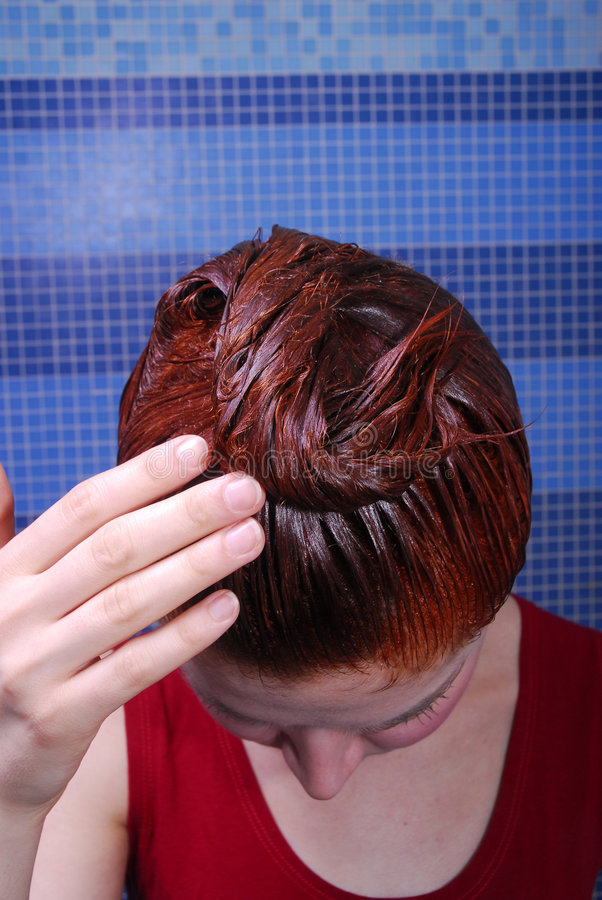 Download Hair Dyeing Stock Photography - Image: 1943062