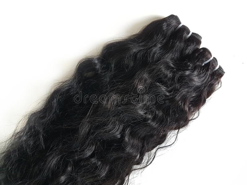 Hair Extensions royalty free stock photo