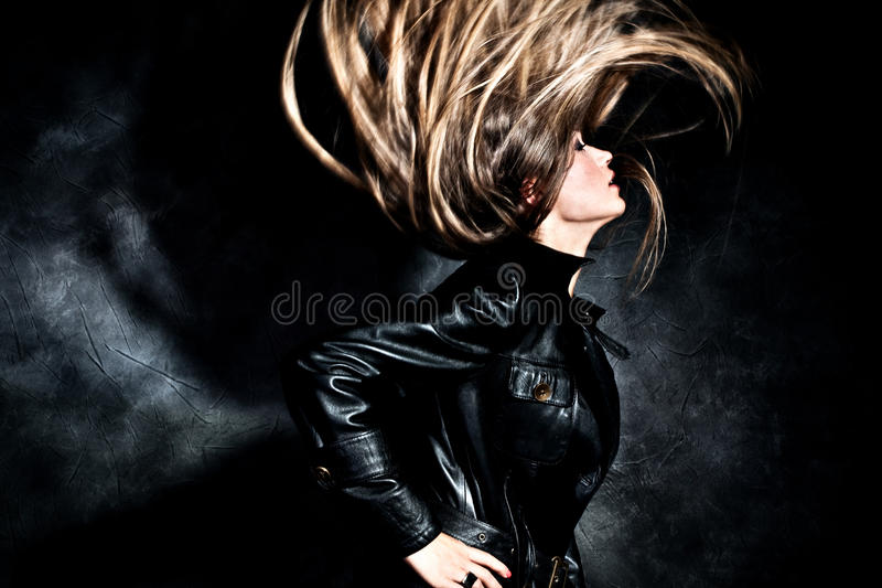 Hair fly stock photography