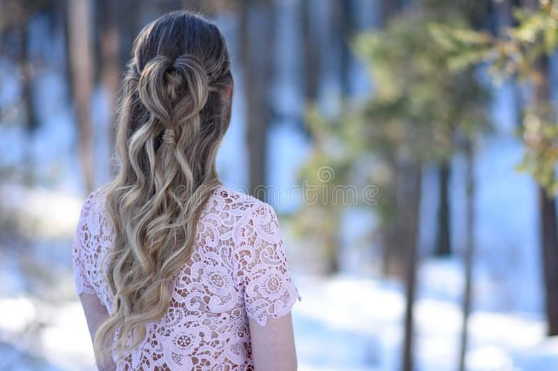 Hair, Girl, Beauty, Hairstyle stock image
