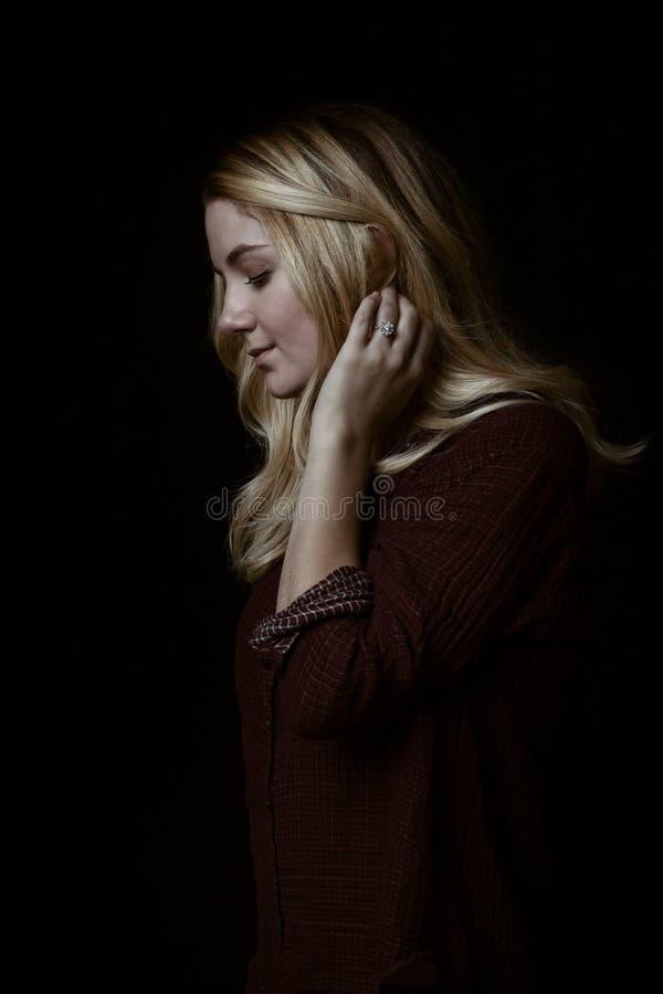 Hair, Human Hair Color, Beauty, Girl stock photography