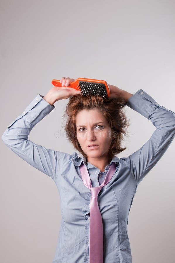 Hair Problem Stock Image