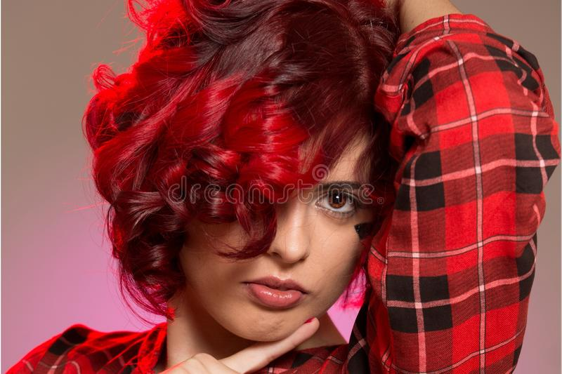 Hair, Red, Human Hair Color, Red Hair stock photography