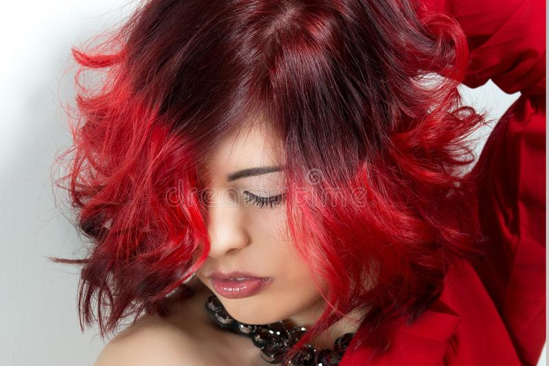 Hair, Red, Human Hair Color, Red Hair royalty free stock photos