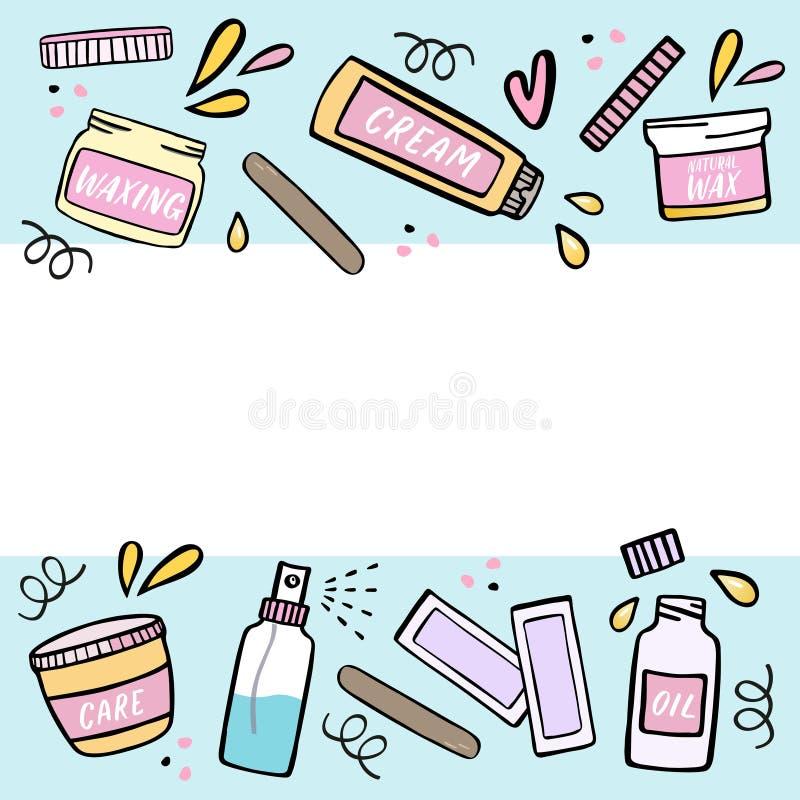 Hair Waxing Stock Illustrations 1 163 Hair Waxing Stock