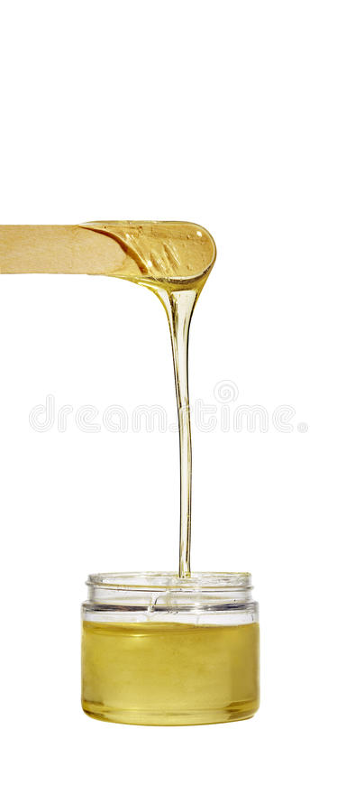 Hair Removal Wax Royalty Free Stock Images