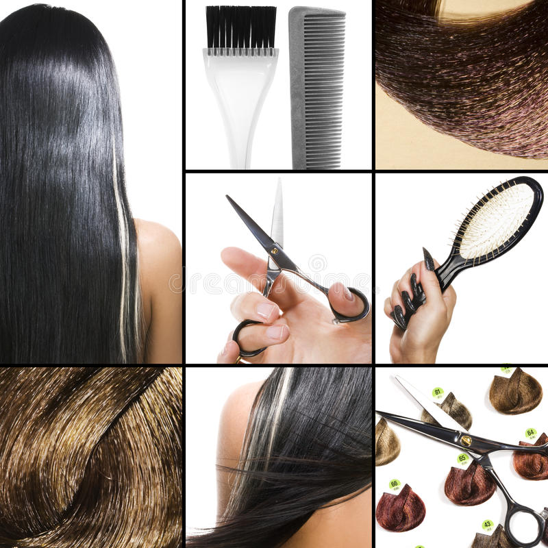 Hair salon stock images