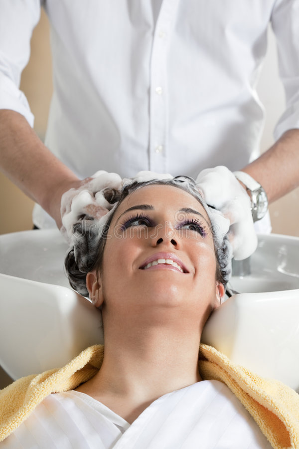 Hair salon royalty free stock images