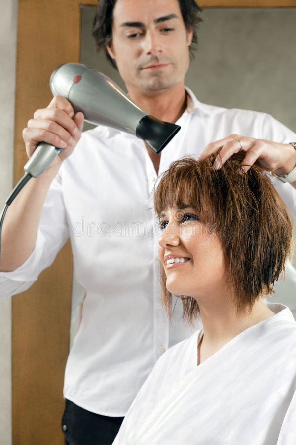 Download Hair salon stock image. Image of grooming, side, adult - 8879979