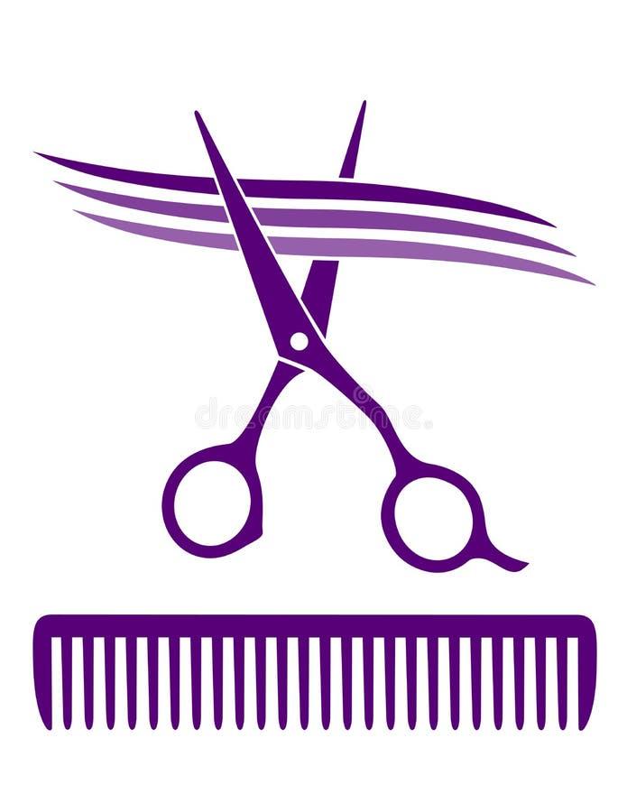 Hair salon icon vector illustration