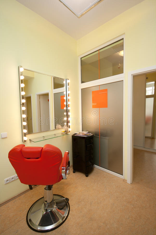 Download Hair salon interior stock photo. Image of neat, decorate - 22520050